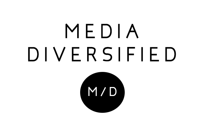 Media diversified business cards