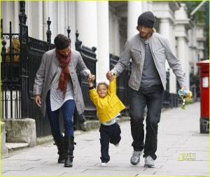 Halle Berry & Gabriel Aubry Spend Time With Nahla