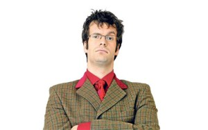 Marcus Brigstocke -surely not the best person for the job?