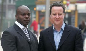 Shaun Bailey was in David Cameron's inner circleShaun Bailey with David Cameron - valued advisor or token Black?