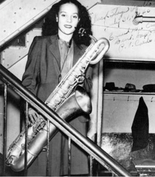 Ernie Mae Crafton Miller backstage at the Apollo Theater [b. 1927 - d. 2010]