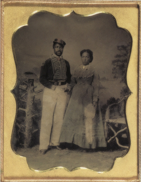 Vintage Man and Wife