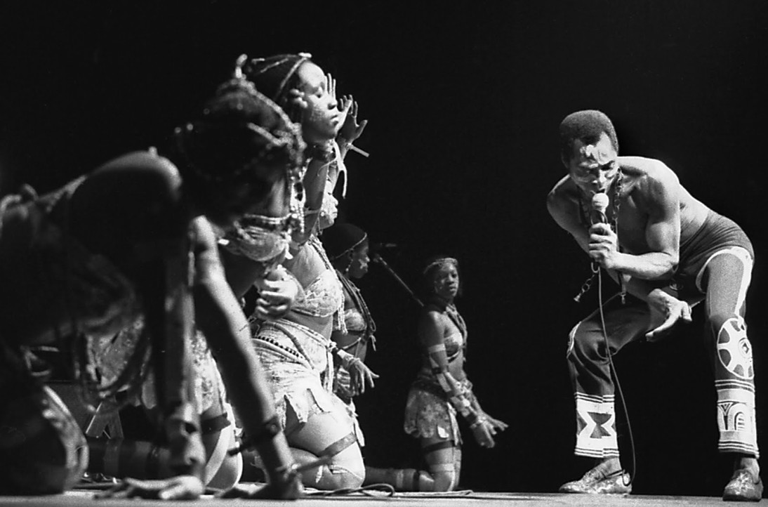 Fela Kuti/ Felt Forum/ NYC 11/1986