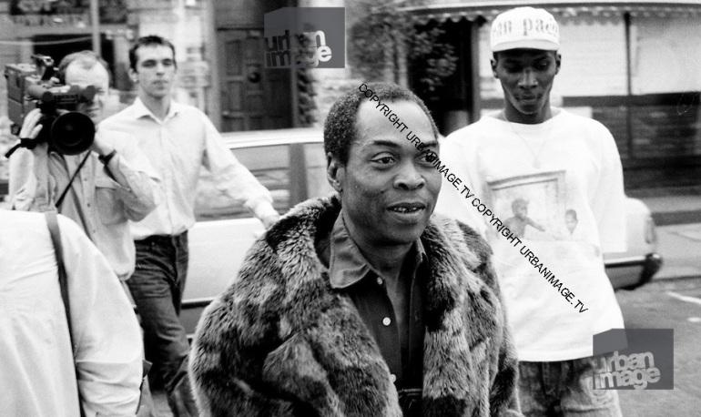 Fela Kuti in London