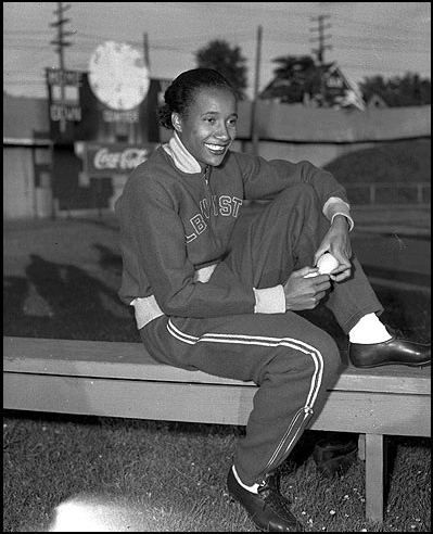 Alice Coachman, First African American woman to win an Olympic gold medal