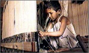 Child labour – now
