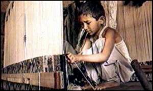 Child labour – now