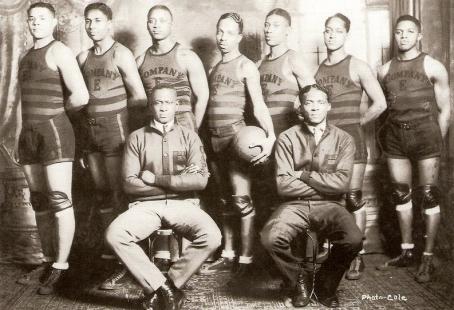 Company E Basketball Team