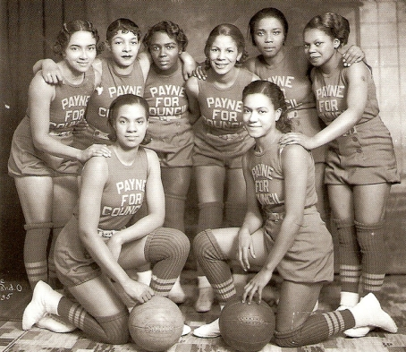 Councilman L.O. Payne's All Female Basketball Team (1935)