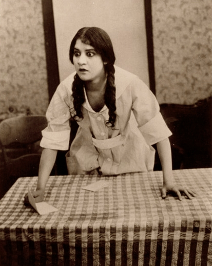 Evelyn Preer in a scene from Oscar Micheaux's The Homesteader