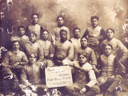 First African American Professional Footballer (1899)