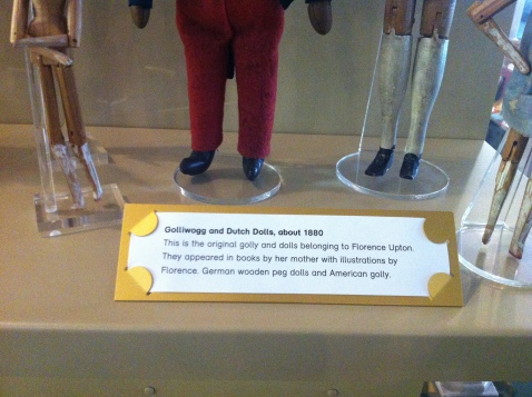 Museum of Childhood - other golliwog label