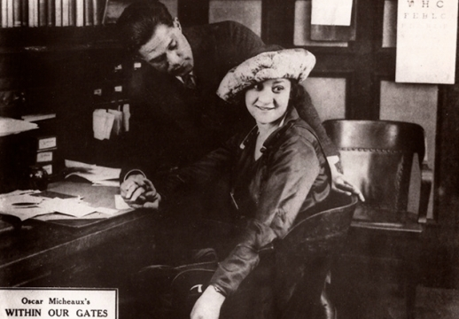 Scene from Oscar Micheaux's Within Our Gates