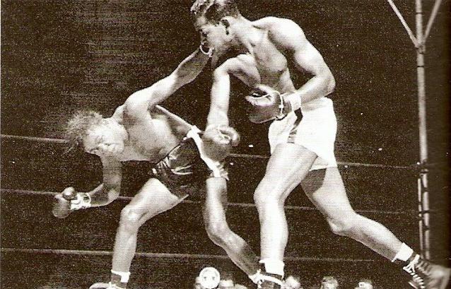 Sugar Ray Robinson and Kid Gavilan (1948)