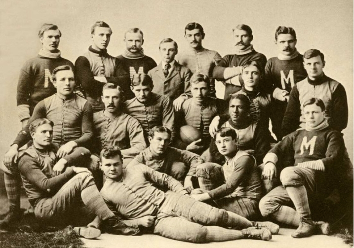 University of Michigan Footballers