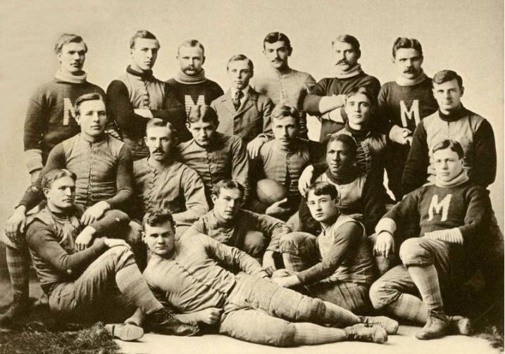 University of Michigan Footballers