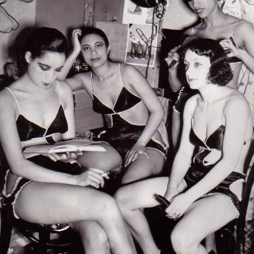 Waiting to go on stage (1930s)