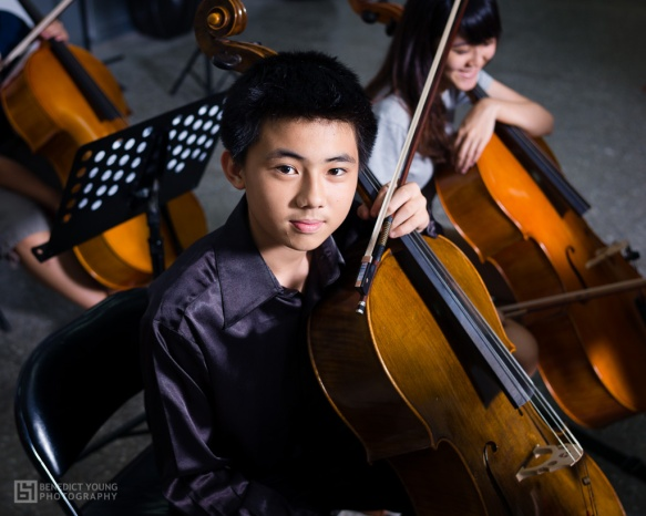 Young Cellist, Kaohsiung City