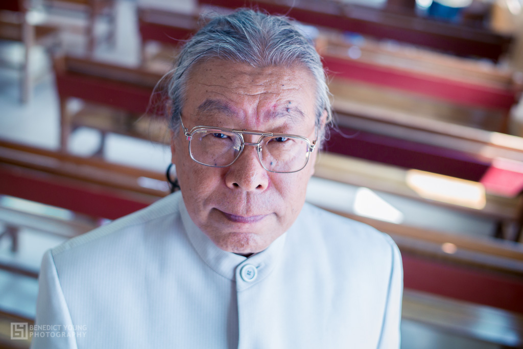 Japanese Preacher Visiting Nia'Ucna Church