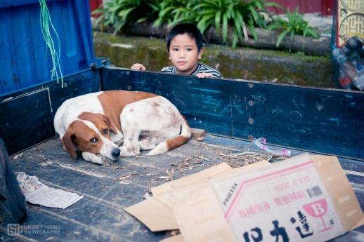 Boy and Dog, Nia'Ucna