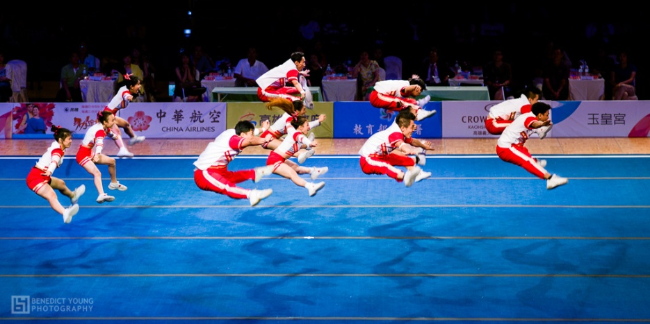 Indonesian Cheerleaders, Performing in 'Chinese Taipei', Kaohsiung