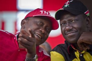 Leaders of the New Kenyan Government: President Kenyatta and Vice President Ruto