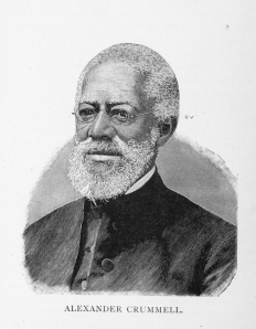 Alexander Crummell, Cambridge University's first black student to graduate in the 19th century.