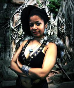 Ytasha L. Womack, author, filmmaker, dancer and futurist.