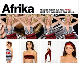 "American Apparel ""Afrika"" Collection"
