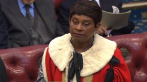Doreen Lawrence in the House of Lords
