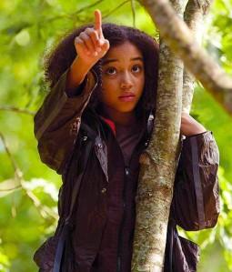 Amandla Stenberg as Rue