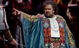 "Johan Botha in the title role of Puccini's ""Otello.""at the Met"