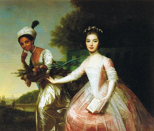 Portrait of Dido Elizabeth Belle (1761-1804) and her cousin Lady Elizabeth Murray (1760-1825)