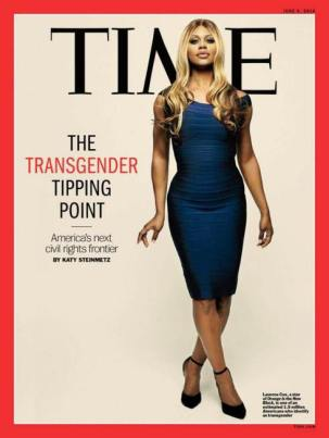 Laverne Cos was the first trans woman of colour on the cover of Time Magazine, but there is a still a long way to go to acheving trans equality