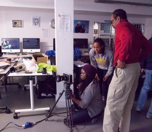 Tim Reid's film workshop