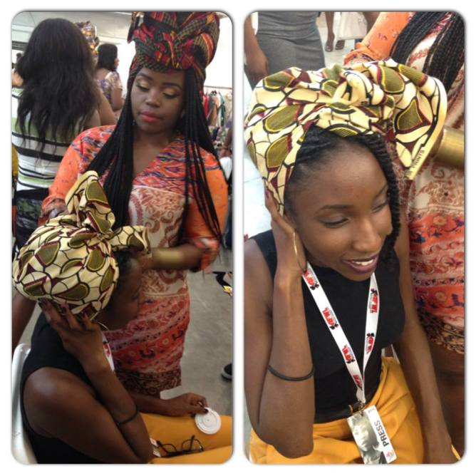 headwrap without border