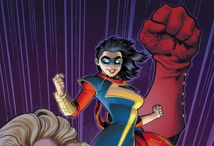 Kamala Khan is Ms. Marvel