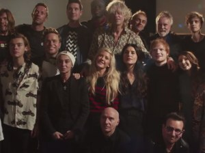 Some of the Band Aid 30 artists