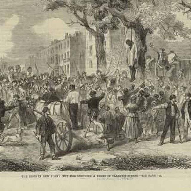 NY Draft Riots 1863