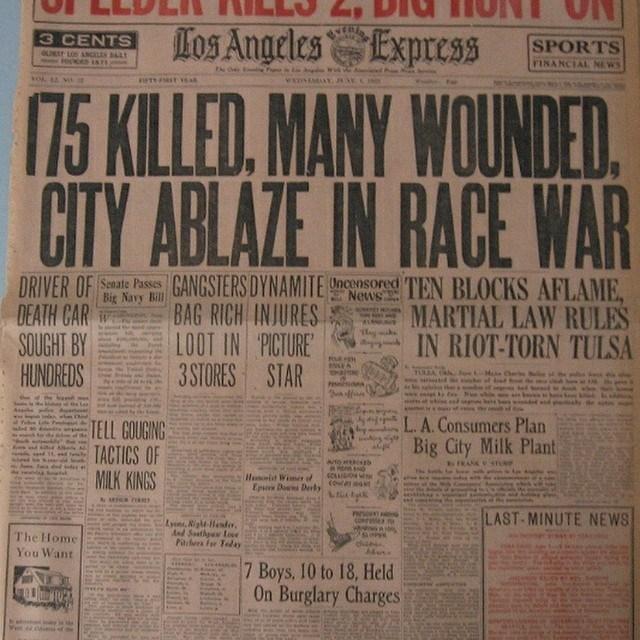 Tulsa Race Riot 1921
