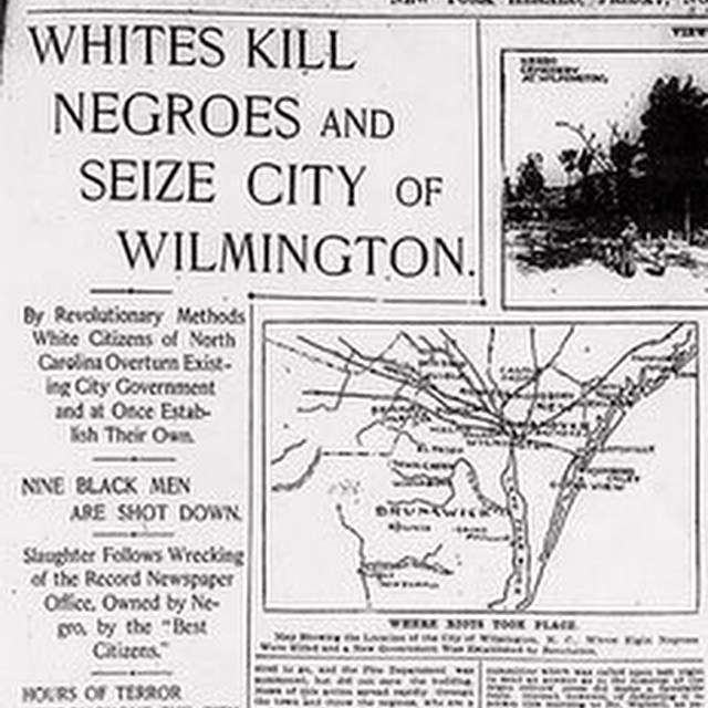 Wilmington massacre, NC