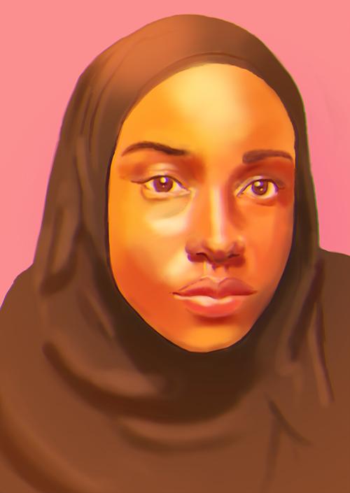 somali_female_portrait_5_by_somaliart-d8cfp34