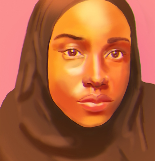somali_female_portrait_5_by_somaliart-d8cfp34