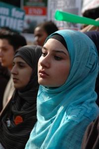 British Muslim girl