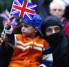 Muslim kid Union Jack
