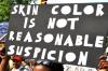 Skin color is not reasonable suspicion