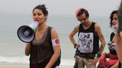 At Copacabana