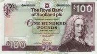100 pound note