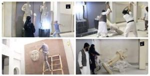 Islamic State Jihadis Destroy 3,000-year-old artworks in Mosul Museum (http://sheikyermami.com), 26 February 2015
