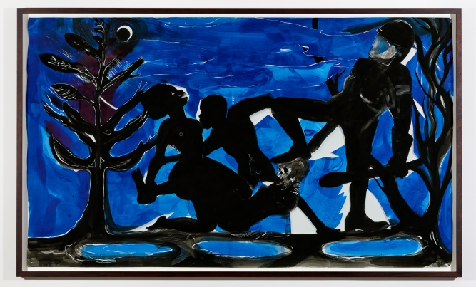 Kara Walker, 'Four Idoims on Negro Art #4 Primitivism', 2015. Courtesy the Artist, Sikkema Jenkins & Co. New York and Victoria Miro, London.
